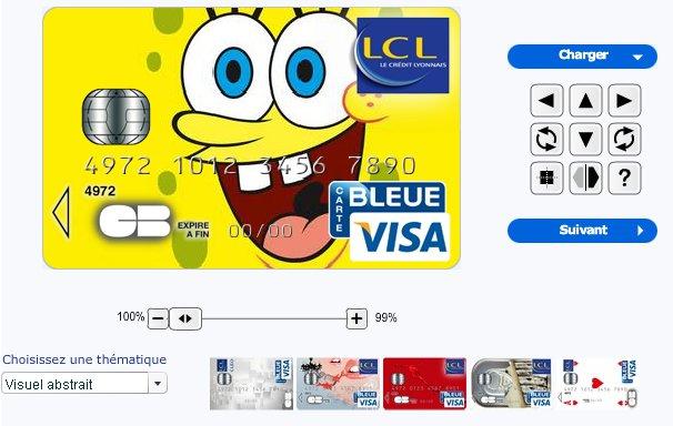 Carte Bleue Personnalisee.Personnalisez Votre Carte Bleue